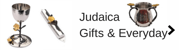 Los angeles jewish gift store, judaica, kiddush cups, washing cups, netilat, wine cup, mezzuzah